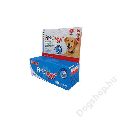 FIPROMAX SPOT-ON DOG L (20-40KG) 1X