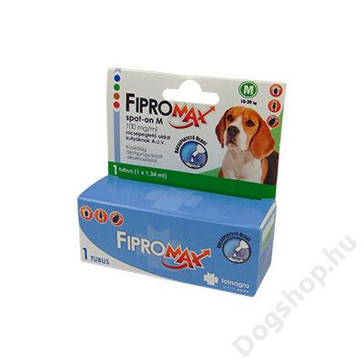 FIPROMAX SPOT-ON DOG M (10-20KG) 1X