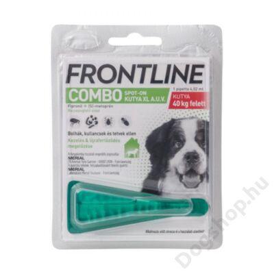 FRONTLINE COMBO KUTYA XL /40 KG FEL/1X
