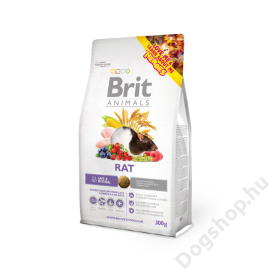 Brit Animals Patkány Eledel 300 G